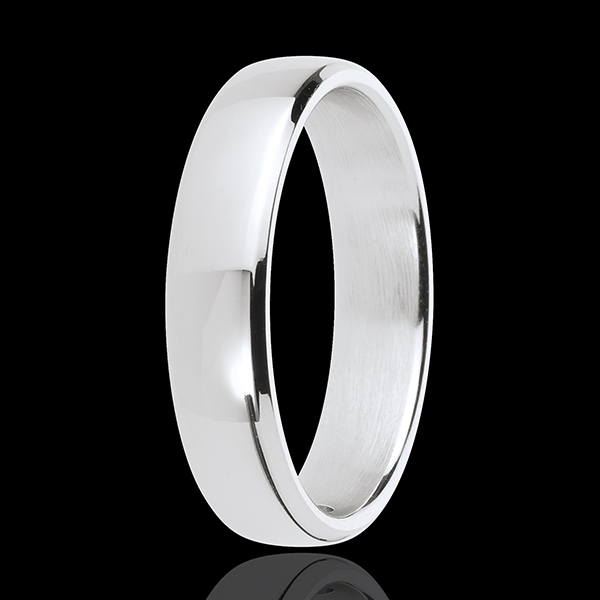 Alliance Square or blanc 18 carats
