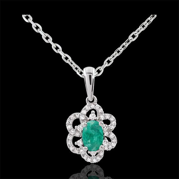 Anhänger Marguerite Princesse - Smaragd