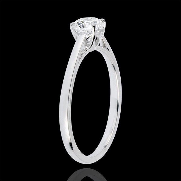 Anillo Solitario pureza perfecta - diamantes - 0.50 quilates