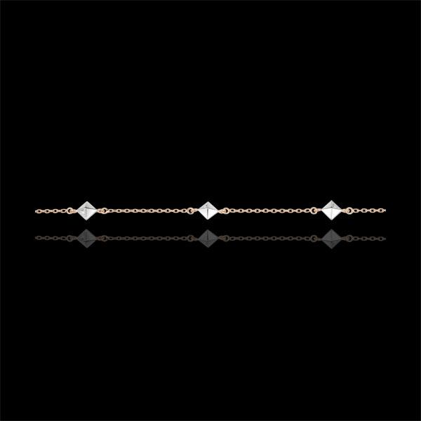 Armband Schöpfung - Rohdiamanten - Roségold