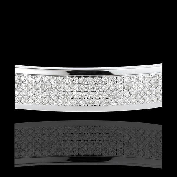 Armband Sterrenbeeld - Astraal - 4 rijen van Diamanten - 1,62 karaat - 180 Diamanten- 18 karaat witgoud
