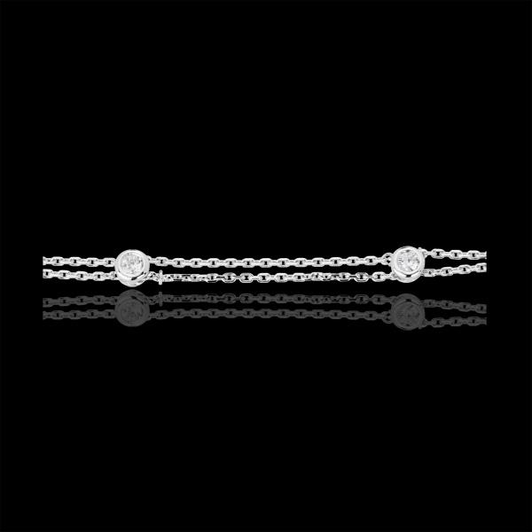 Armband Zodiaque 18 karaat - 18 karaat witgoud met Diamant
