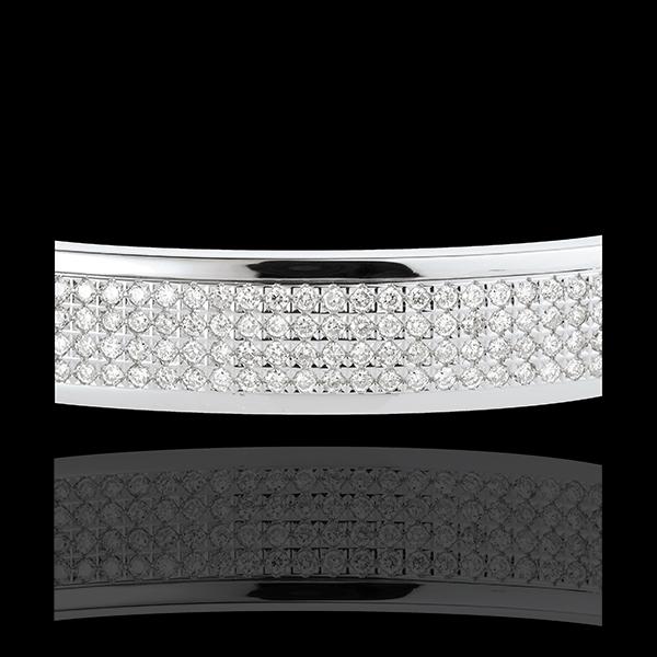 Armreif Sternbilder - Himmelskörper - 4 Diamantreihen - 1.62 Karat - 180 Diamanten