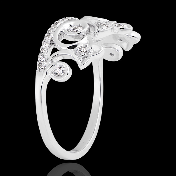 Bague Destinée - Amour Sacré - or blanc 18 carats