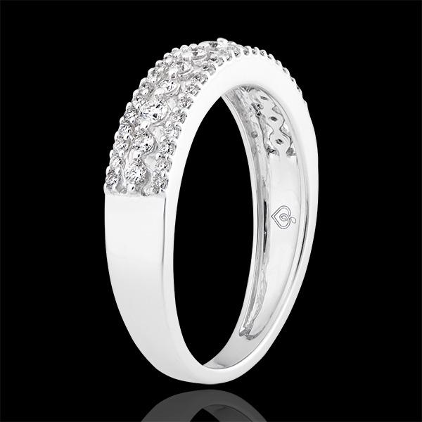 Bague Destinée - Diane - or blanc 18 carats et diamants