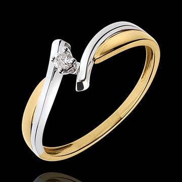 solitaire nid pr cieux jupiter diamant carat or. Black Bedroom Furniture Sets. Home Design Ideas