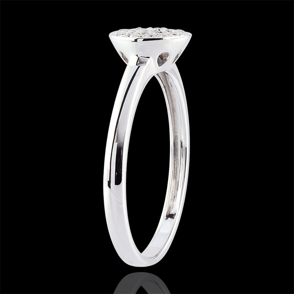 Bague Ma Constellation or blanc 9 carats