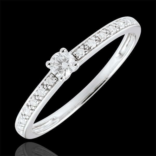 Boreal Solitaire Ring - 0.09 carat