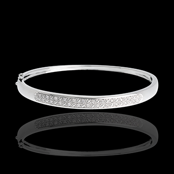 Diorama bangle/bracelet - 0.25 carat - 23 diamonds