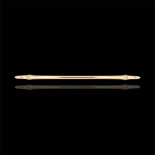 Brăţară fixă Junglă Sacră - diamante - aur galben de 9K
