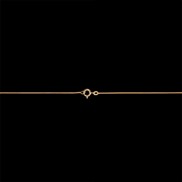 Chaîne Serpent or jaune 18 carats - 42 cm