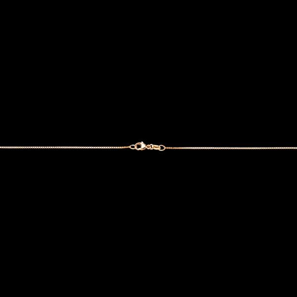 Chaîne Vénitienne or jaune 18 carats moyenne - 42 cm
