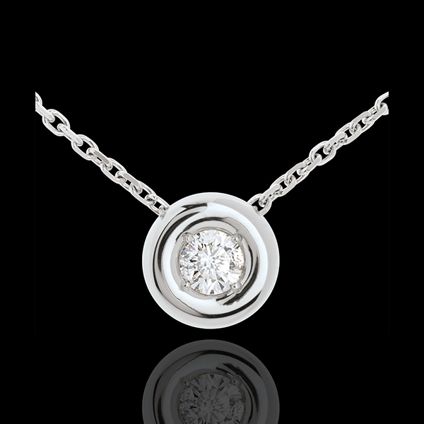Chalice diamond necklace