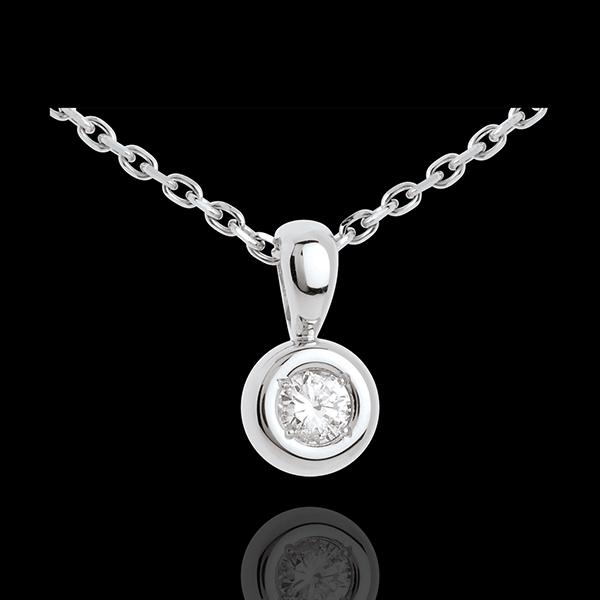 Chalice diamond pendant