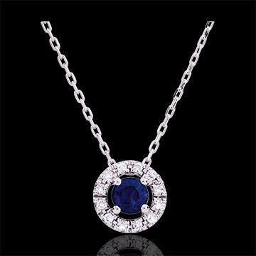 Clévia Sapphire Necklace - 18 carats