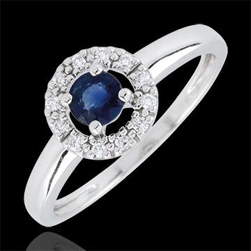 Clévia Sapphire Ring - 18 carats