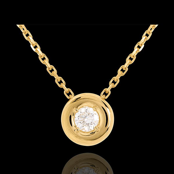 Collier Calice or jaune 18 carats