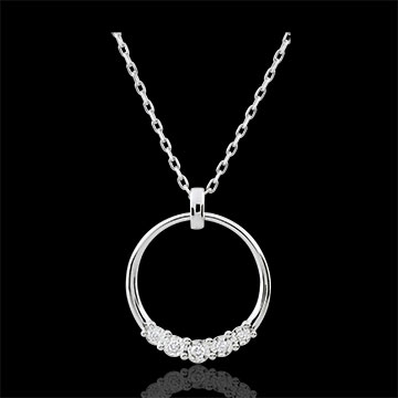 Collier Eternita - 5 Diamanten