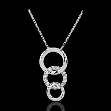 Collier Gala - or blanc 9 carats