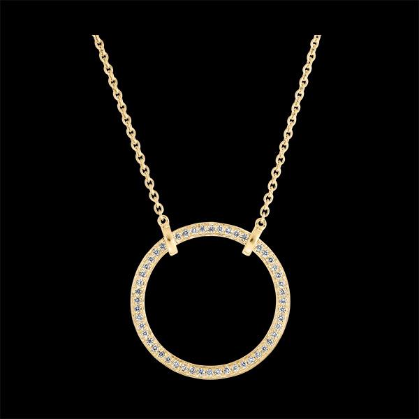 Collier Fraîcheur - Circé - or jaune 18 carats et diamants