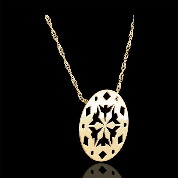 Collier Makwa - or jaune 9 carats