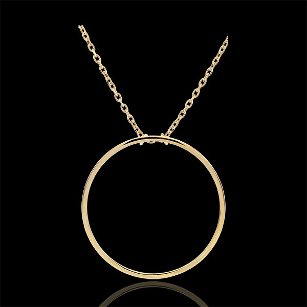 Collier Nita - or jaune 9 carats