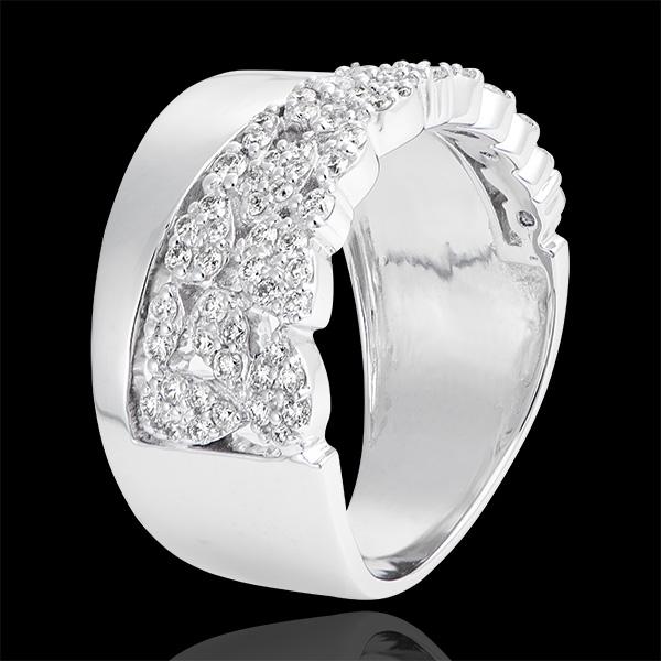 Destiny Ring - Constancy - 9K white gold and diamonds