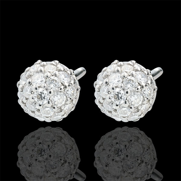 Diamond Charm Earrings