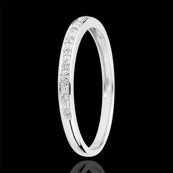 Diamond Flashes Wedding Ring - 9 carats