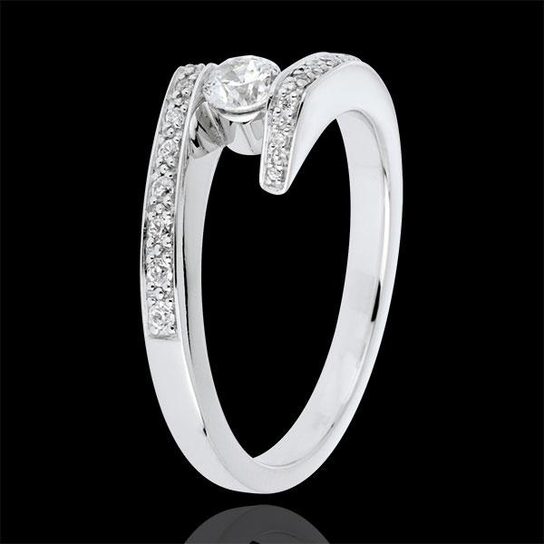 Diamond Set Shoulders Ring Promise