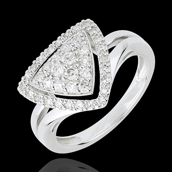 Diamond Spaceship Ring
