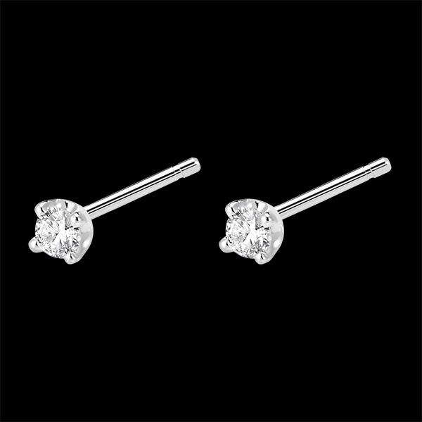 Dormilonas diamantes - cortos oro blanco