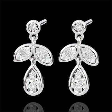 Hesmé Earrings with 10 diamonds