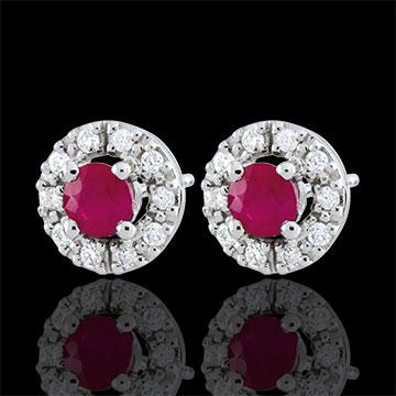 Clévia Ruby Earrings