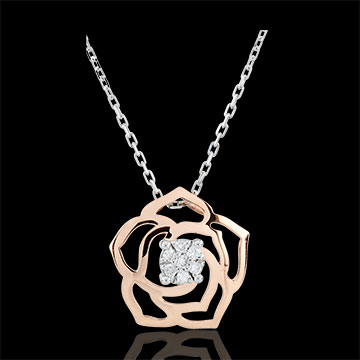 Eclosion Necklace - Rose Absolute - rose gold - 18 carat