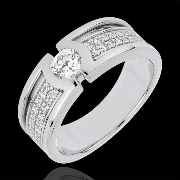 Engagement Ring Constellation - Diamond Solitaire - 0.35 carat diamond