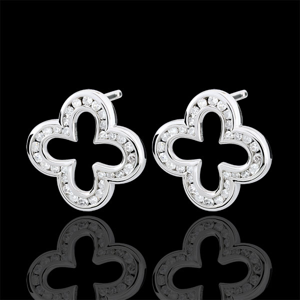 Erica Earrings - 64 diamonds