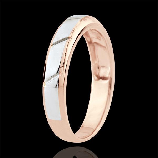 Fede Magnus - Oro rosa e Oro bianco -18 carati