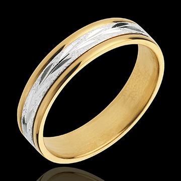 Floral Wedding Ring - large model