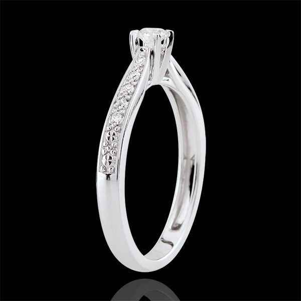 Garlane Solitaire Ring with 4 claws - 0.10 carat