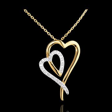 Halsketting - 17 Diamanten