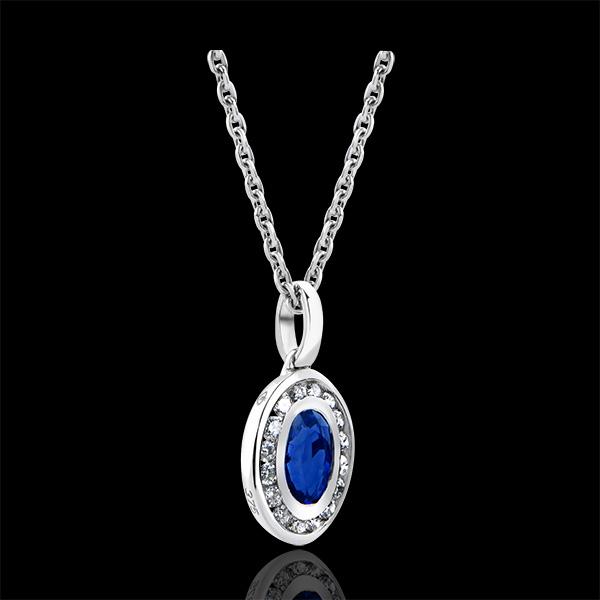 Hanger Overvloed - Clelia - 18 karaat witgoud met diamanten
