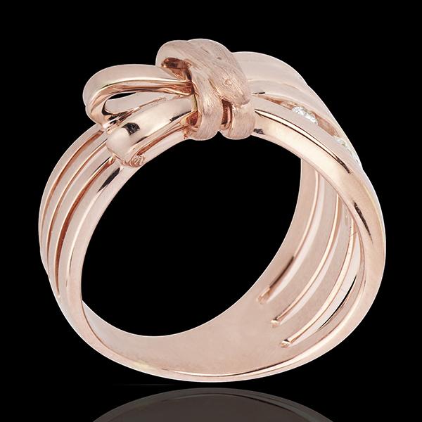 Inel Plimbare Imaginară - Camuflaj - aur roz de 18K