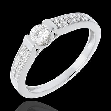 Inelul de logodnă Destin - Arc - diamant 0.18 carate - 18K