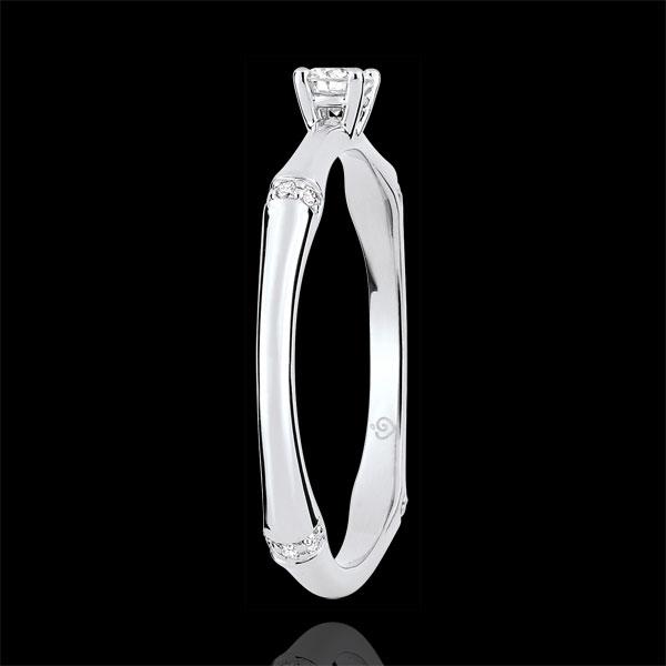 Jungle Sacrée engagement ring - 0.09 carat diamond - yellow gold 18 carats