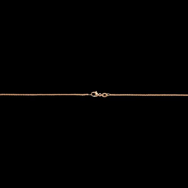 Łańcuszek kłos z żółtego złota 9-karatowego - 42 cm