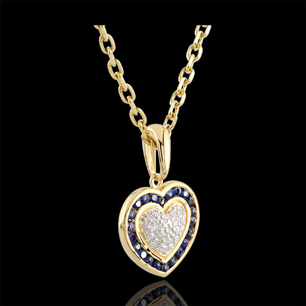 Marquise Heart Pendant