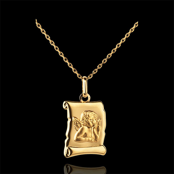 Medalla Angel San Rafael Pergamino