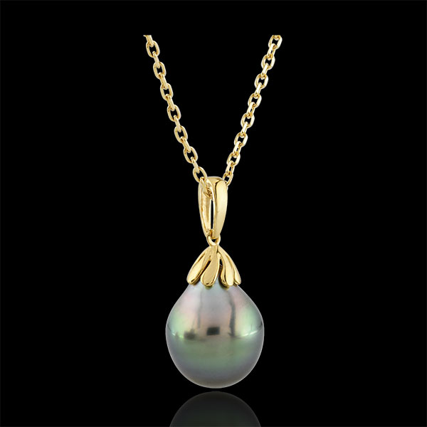 Mother-of-pearl Tear-drop Pendant