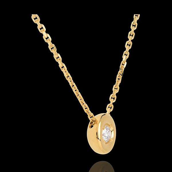 Naszyjnik Kielich z żółtego złota 18-karatowego